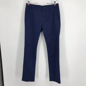 Men's Bonobos Size 30/30 Blue Slim Slacks Pants